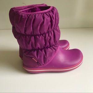 Crocs winter boots water proof